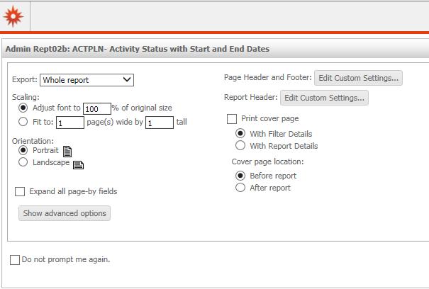 PDF Download Options