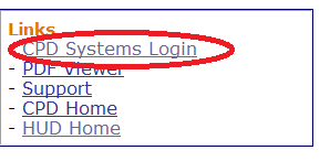 CPD Systems Login Link