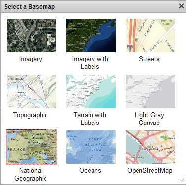View Basemap